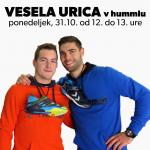 VESELA URICA z Miho Zarabcem, Blažem Jancem in Bebo Ščap