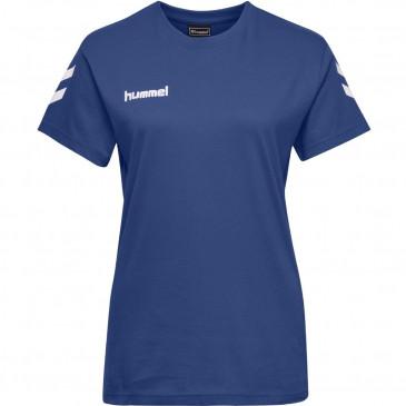 ženska majica s kratkimi rokavi hummel GO COTTON