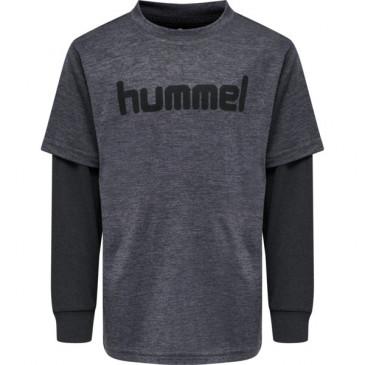 otroška majica z dolgimi rokavi hmlDYLAN T-SHIRT L/S