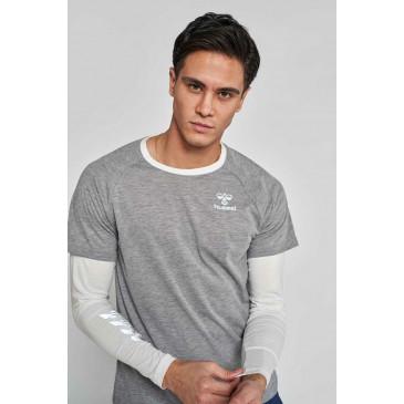 moška majica z dolgimi rokavi hmlNORTH