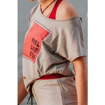 ženska majica s kratkimi rokavi HMLHAILEY