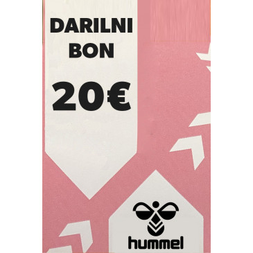 hummel darilni bon 20 eur