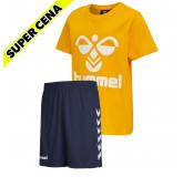 PAKET - otroški kratka majica hmlTRES + otroške kratke hlače CORE POLY