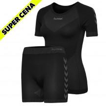 PAKET - ženska brezšivna majica + brezšivne kratke hlače GRATIS