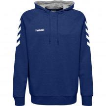 Otroški pulover s kapuco hummel GO COTTON