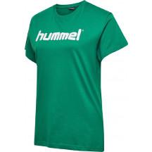 ženska majica s kratkimi rokavi hummel GO COTTON LOGO