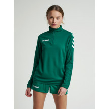 ženski pulover CORE WOMAN 1/2 ZIP SWEAT