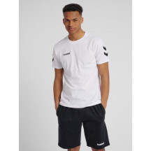 moška majica s kratkimi rokavi hummel GO COTTON