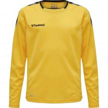 Otroška dres majica z dolgimi rokavi hmlAUTHENTIC KIDS POLY JERSEY L/S