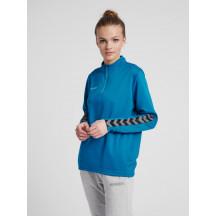 ženski pulover hmlAUTHENTIC HALF ZIP SWEATSHIRT WOMAN