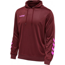 pulover s kapuco hmlPROMO POLY HOODIE