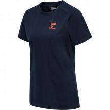 ženska majica s kratkimi rokavi hmlACTION COTTON T-SHIRT WOMAN