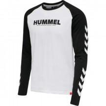 unisex majica z dolgimi rokavi hmlLEGACY BLOCKED T-SHIRT L/S