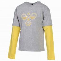 otroška majica z dolgimi rokavi hmlHEBRONY L/S T-SHIRT