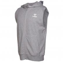 moški zip hoodie brez rokavov HMLRASMUS SLEEVELESS HOODIE