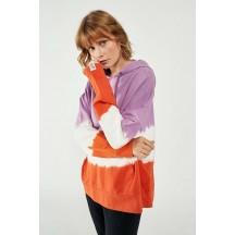 ženski oversize pulover s kapuco hmlLINE HOODIE