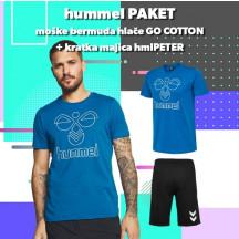 PAKET - moške bermuda hlače + kratka majica hmlPETER