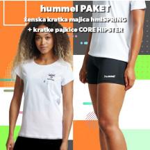 PAKET - ženska majica hmlSPRING + kratke pajkice CORE HIPSTER