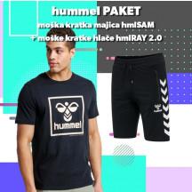 PAKET - moška kratka majica hmlSAM + kratke hlače hmlRAY 2.0