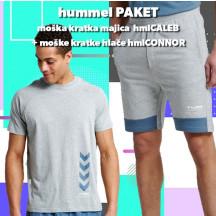 PAKET - moška kratka majica hmlCALEB + kratke hlače hmlCONNOR