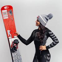snowboarder Gloria Kotnik