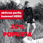 Aktivno perilo HERO 20% CENEJE