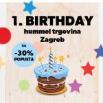 Upihnili smo 1. svečko v Zagrebu