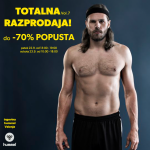 TOTALNA RAZPRODAJA s popusti do -70%