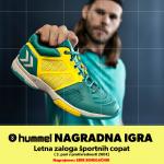 NAGRADNA IGRA - letna zaloga športnih copat hummel