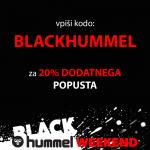 Prihaja BLACK hummel WEEKEND