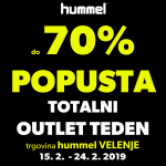 Tu je totalni OUTLET TEDEN s popusti do -70%!