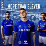 Everton in hummel razkrivata nov dres za sezono 2020/21